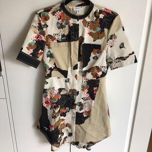 3.1 Phillip Lim for Target front zip floral dress
